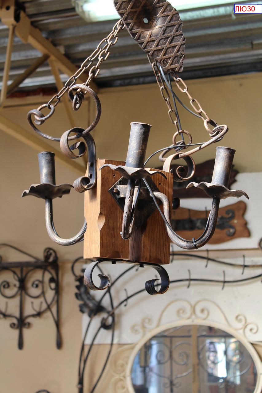 Кованые люстры - художественная ковка