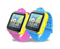Детские умные gps часы Smart baby watch Q200(GW1000) 3G+камера Blue Оригинал На русском языке, фото 3