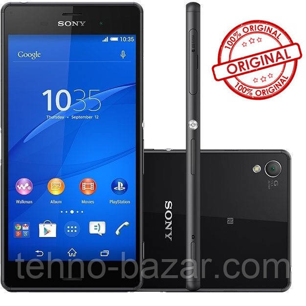 Смартфон Sony Xperia Z3 Black D6603 3gb\16gb Оригинал