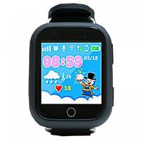 Умные часы Smart Baby Watch Q100s(GW200s) Black GPS,Wifi,Вибро, фото 2