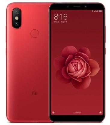 "Смартфон Xiaomi Mi 6X 6/64GB Red, 12+20/20Мп, Snapdragon 660, 2sim, 5.99"" IPS, 3010mAh, GPS"