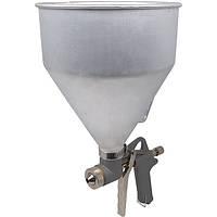 ☑️ Пневмопистолет для нанесения цемента с алюм.баком Miol 81-562