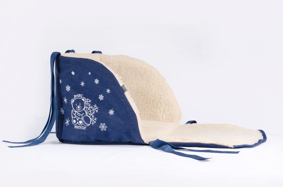 Матрасик для санок Baby Breeze синий 0301-301