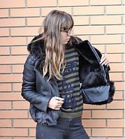 Женская дубленка косуха  модная  . Стиль и Мода, фото 1