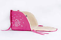 Матрасик для санок Baby Breeze малиновый 0301-306