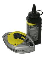 ☑️ Шнур разметочный FatMax® XL в наборе с черной пудрой (30м*225гр)  STANLEY 0-47-488