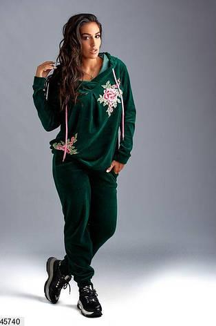 Новинка сезона! костюм велюровый женский большие размеры: 58-60, 62, фото 2