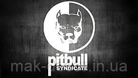 Виниловая наклейка на авто - Pitbull Syndicate (цена за размер 20х13 см)
