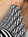 Юбка трикотажная облегающего силуэта в стиле Fendi, фото 4