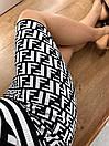 Юбка трикотажная облегающего силуэта в стиле Fendi, фото 5