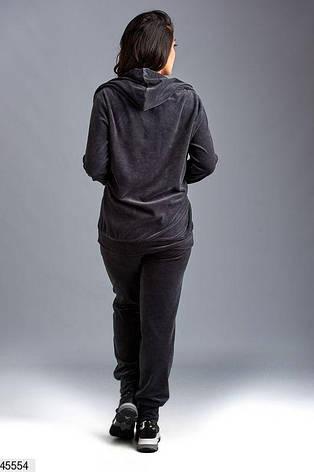 Новинка! костюм спортивный женский демисезонный размеры:58-60,62, фото 2