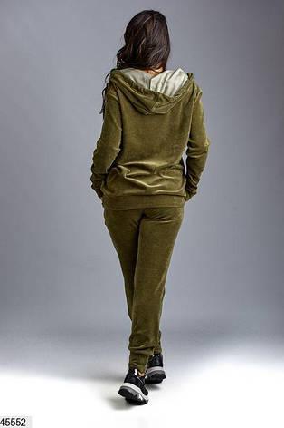 Новинка! костюм спортивный женский демисезонный размеры: 58-60,62, фото 2