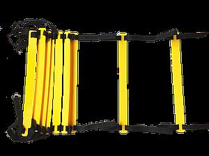 Координационная лестница, скоростная дорожка 6 ступеней 2,5 м 24 ступени