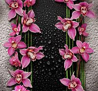 Фотообои Малиновые орхидеи 196*210 (12лист)