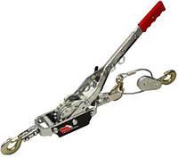 ☑️ Лебедка механическая рычажная 4т (двойное зубчатое колесо) TRK8041 TORIN TRK8041