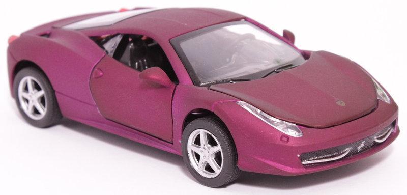 Металлическая машина Автопром Ferrari 458 (3201 С)