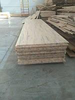 Деревянный Мебельный щит СОСНА с синевой 3000х1000х18мм, цельноламельн, порезка, доставка по Украине