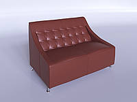 """Офисный диван """"Полис"""" светло-коричневый"""