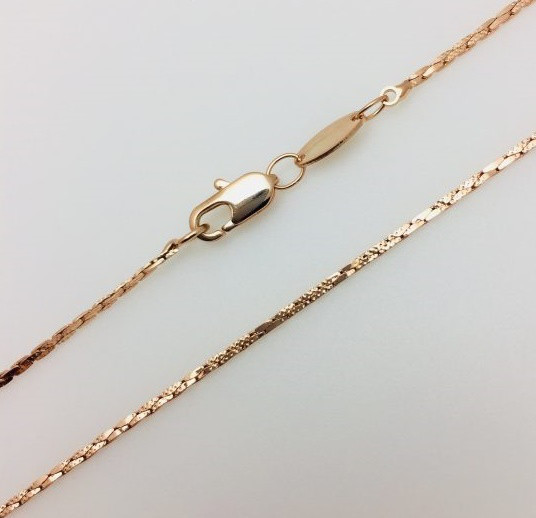Цепочка плетение Ленточное, длина 50 см H-0.11 ювелирная бижутерия