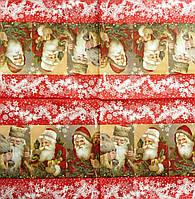 "Салфетка декупажная 33Х33см 27 ""Дед Мороз в снегу"" (товар при заказе от 200 грн)"