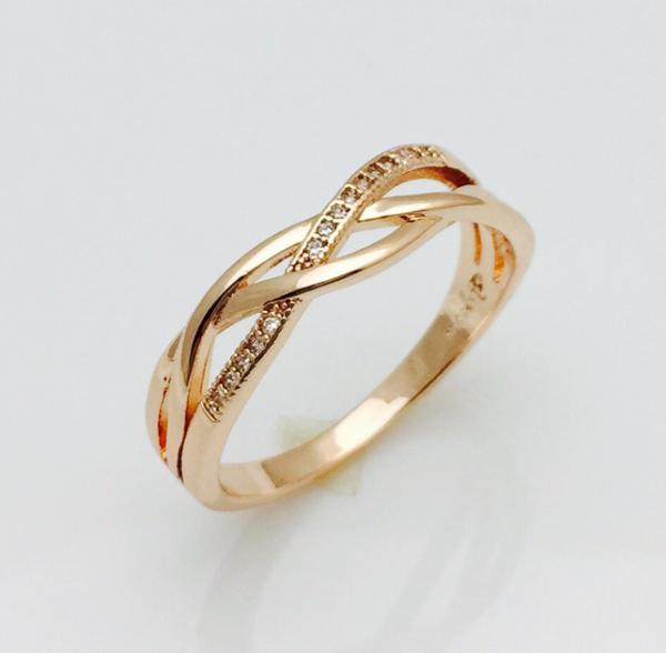 Кольцо женское, размер 17, 18
