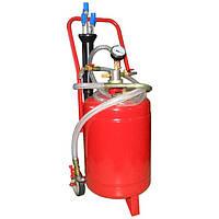 ☑️ Установка для вакуумной откачки масла (24л.) G.I. KRAFT B24V, фото 1
