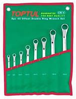 ☑️ Набор накидных ключей 6-32мм (угол 45°) 12ед. TOPTUL GAAA1201