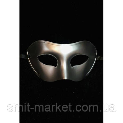 Венецианская маска серебро, фото 2