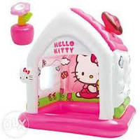 Детский игровой центр INTEX 48631 Домик Hello Kitty, фото 1