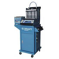 ☑️ Стенд для промывки форсунок (6 форсунок, тележка, ультразвуковая ванна с таймером) G.I. KRAFT