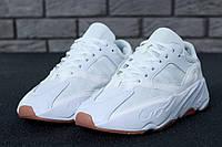 Кроссовки мужские Adidas Yeezy Boost 700 реплика ААА+, размер 41-44 белый (живые фото)