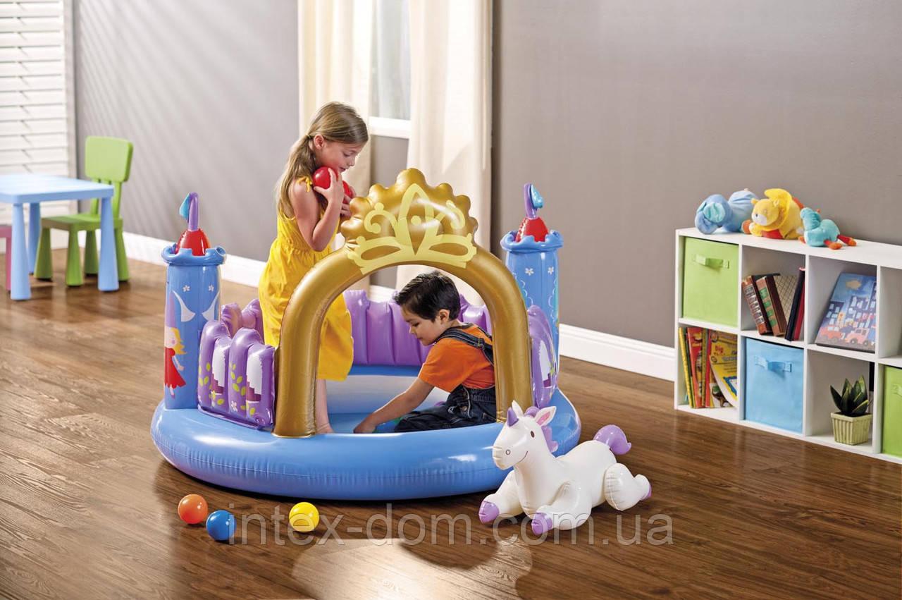 Игровой центр Принцесса 130х91 см, Intex 48669