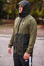 Ветровка мужская Nike Jacket NSW HD Woven 928857-395 Темно-зеленый