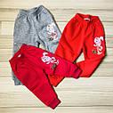 Штаны спортивные с начесом    ( 1-4 года), фото 2