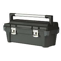 ☑️ Ящик инструментальный 65,1 x 27,6 x 26,9см метал.замок, ручка STANLEY 1-92-258