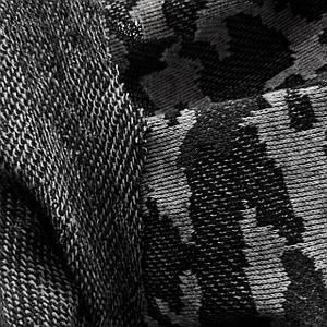 Футер трехнитка без начеса камуфляж серый