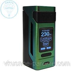 Бокс мод Wismec Reuleaux RX2 21700 (Аккумуляторы в комплекте) зеленый оригинал