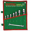 ☑️ Набор ключей рожково-шарнирных 12 шт. 8-19 TOPTUL GAAA1208