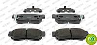 Колодки тормозные задние Hyundai Santa Fe 00-; Sonata 98-; Getz 03-; Tucson 06-; KIA Sportage 06- Ferodo