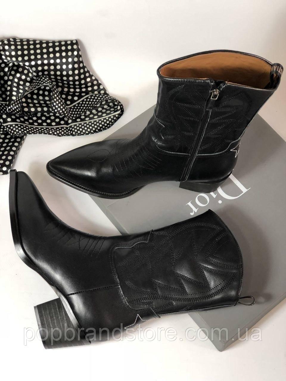 Шикарные женские ботинки Christian Dior казаки (реплика)  продажа ... 76533d78261