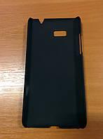 Чехол-накладка пластиковая для HTC Desire 600 чёрная