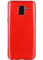 Чехол-накладка T-PHOX Samsung J6 2018/J600 - Crystal (Red), фото 1