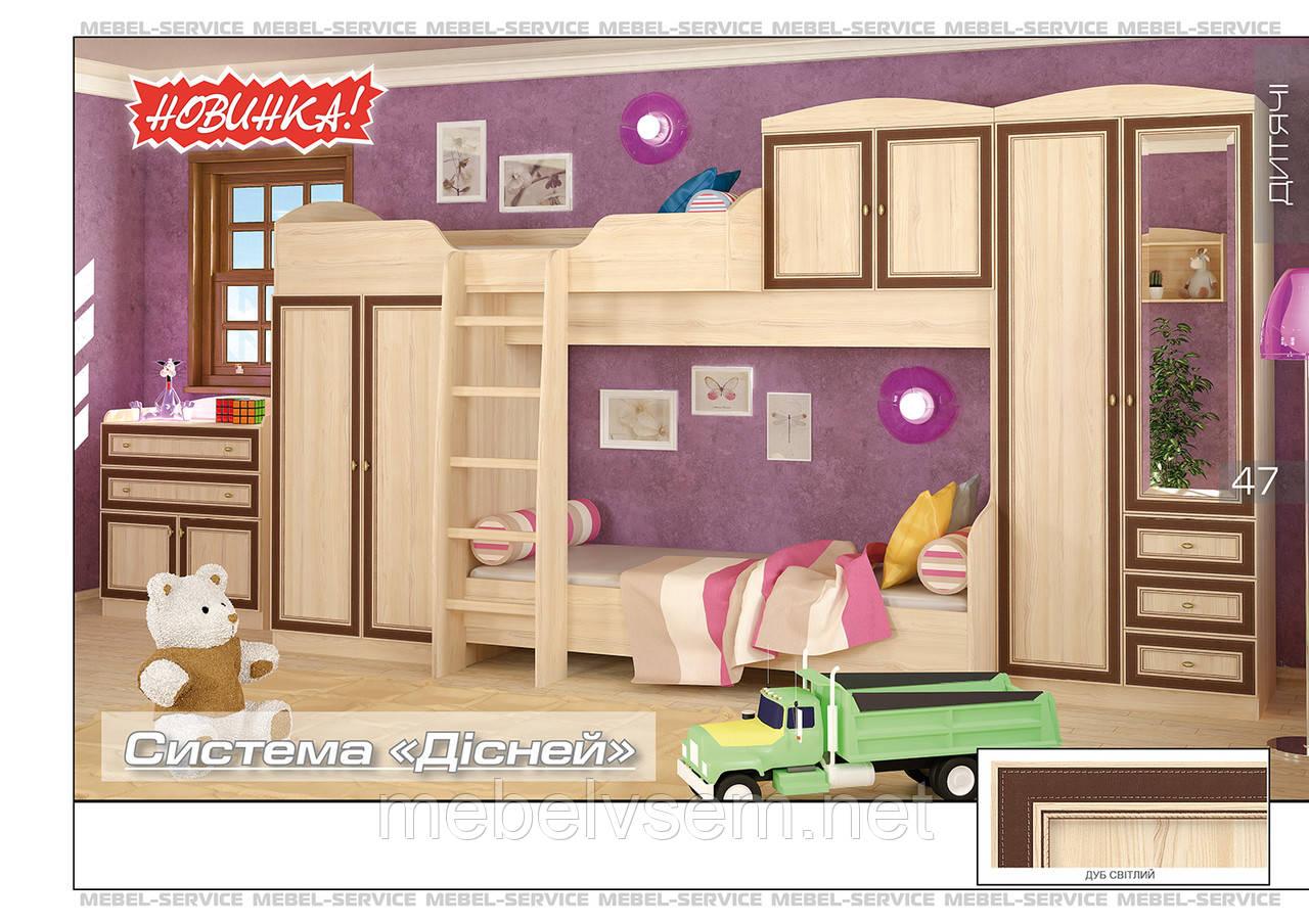 Дитячі меблі Дісней від Меблі Сервіс