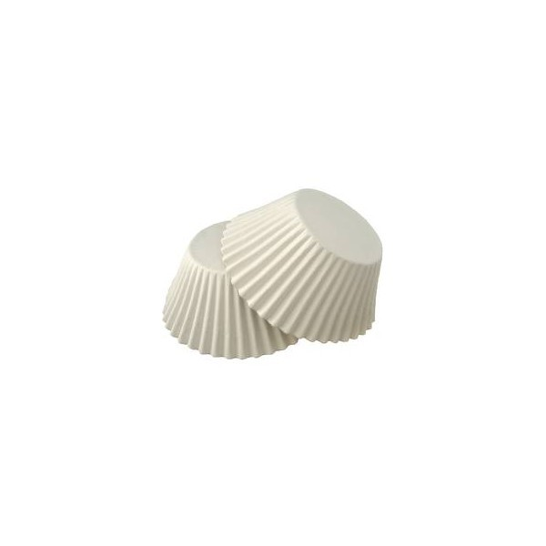 Форма для маффинов белые большие 55/43мм  Украина - 00407