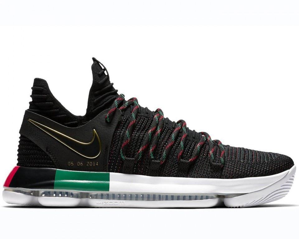 877e8316 Баскетбольные кроссовки Найк Nike KD 10 Black History Month (Арт. 2544) -  Онлайн