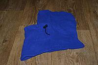 Подшлемник - капюшон зимний синий (флис), теплая балаклава для мото, вело, спорта, активного отдыха