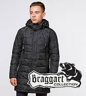 Подросток 13-17 лет |  Куртка зимняя Braggart Teenager 25260 черная