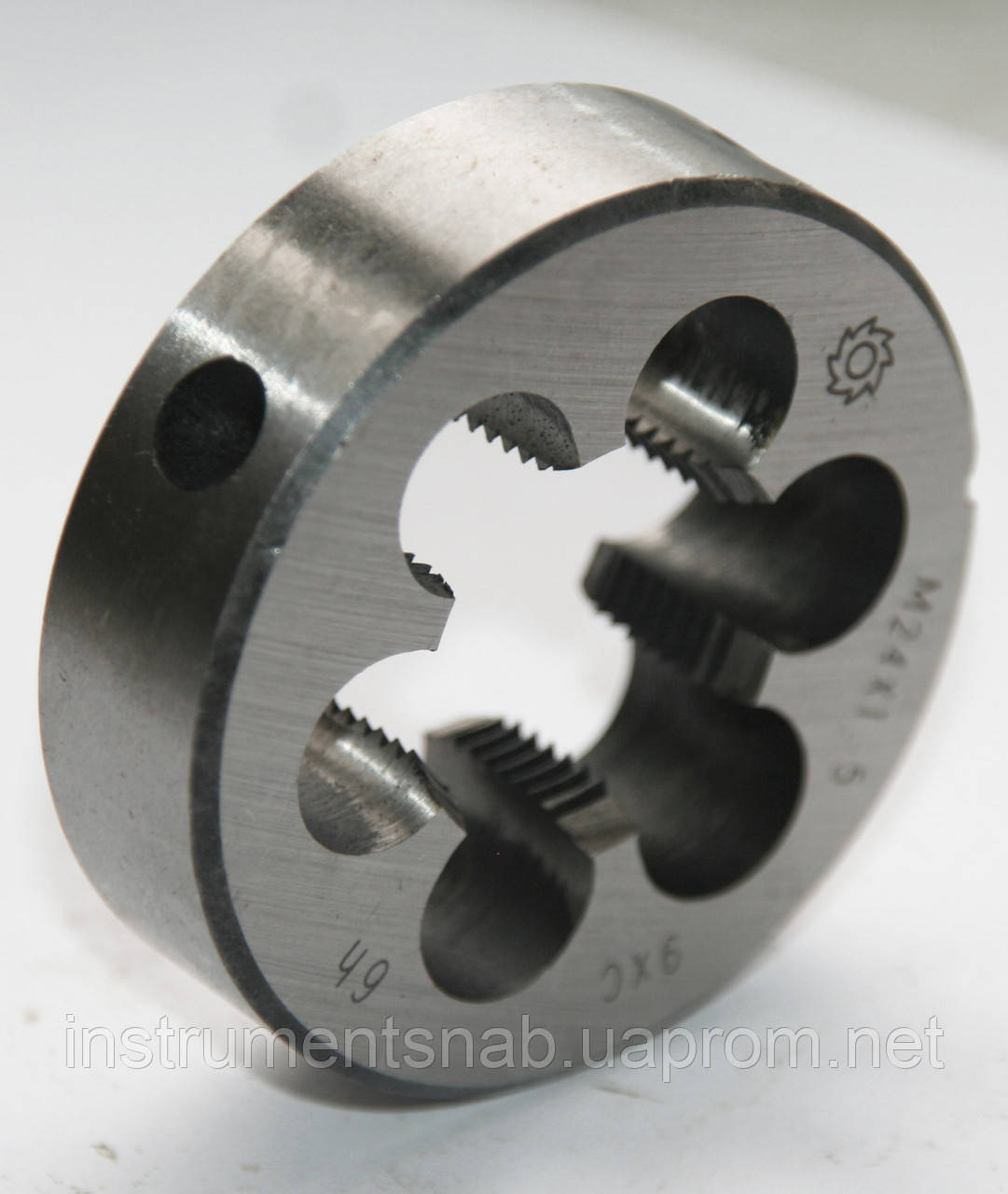 Плашка М-33х0,75, 9ХС, мелкий шаг