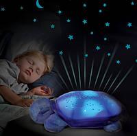 Музыкальный ночник черепаха Звездное Небо