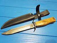 Нож Дамаск финка легендарная  эксклюзив,ручная работа